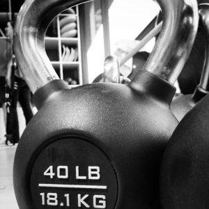 pesa rusa de 18 kg ketbell